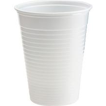Duni Kunststoff-Becher weiß, 21 cl, 80 Stück