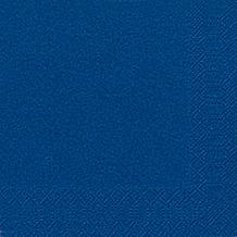 Duni Cocktail-Servietten 3lagig Tissue Uni dunkelblau, 24 x 24 cm, 20 Stück
