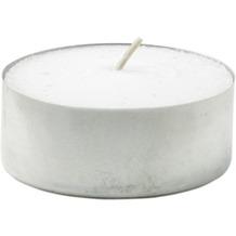 Duni Teelichte mit Metallhülse weiß, 30 Stück