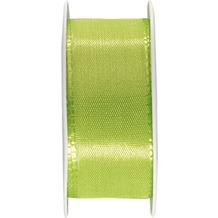 Duni Seidenband grün, 25 mm x 3 m