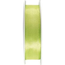 Duni Seidenband grün, 15 mm x 3 m