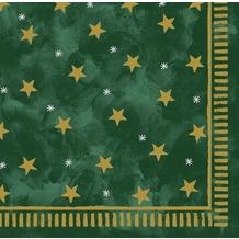 Duni Poesie-Servietten aus Dunilin Motiv Stella green, 40 x 40 cm, 12 Stück