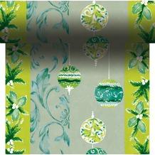 Duni Dunicel-Tischläufer 3 in 1, alle 40 cm perforiert, Motiv Natural Harmony, 40 cm x 4,8 m