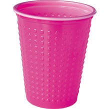 Duni Plastikbecher Colorix Uni pink, 20  cl, 40 Stück