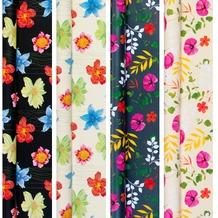 Duni Geschenkpapier auf Rolle, 4 Rollen, Top-Kollektion Indian Summer, 2 m x 70 cm