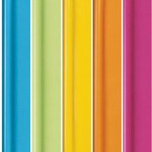 Duni Geschenkpapier auf Rolle, 5 Rollen, Colour Dreams bright, 2 m x 70 cm