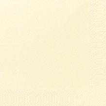 Duni Dinner-Servietten 3lagig Tissue Uni champagne, 40 x 40 cm, 250 Stück