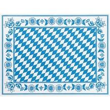 Duni Tischset aus Dunicel Motiv Bayernraute, 30 x 40 cm, 100 Stück
