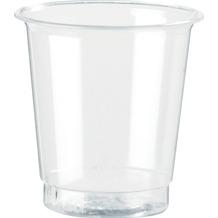 Duni Schnapsgläser glasklar, Füllhöhe 3 cl, Eichstrich 2cl, 20 Stück