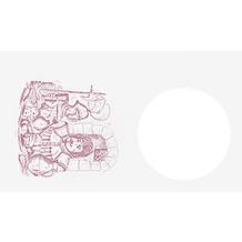 Duni Dunicel-Lätzchen Speisender Ritter 40 x 60 cm 500 Stück