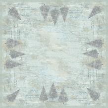 Duni Dunicel-Mitteldecken Blue Winter 84 x 84 cm 20 Stück