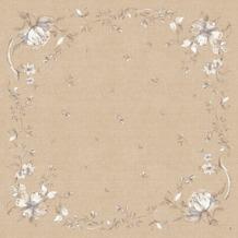Duni Dunicel-Mitteldecken Floris 84 x 84 cm unverpackt 20 Stück