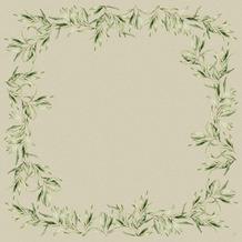 Duni Dunicel-Mitteldecken Foliage 84 x 84 cm 100 Stück