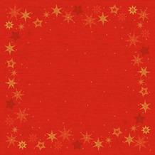 Duni Dunicel-Mitteldecken Star Stories Red 84 x 84 cm 100 Stück