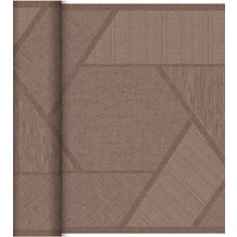 Duni Dunicel-Tischläufer Tête-à-Tête Elwin Greige 24 x 0,4 m 20 Abschnitte je 1,20 m lang, 40cm breit, perforiert 1 Stück