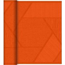 Duni Dunicel-Tischläufer Tête-à-Tête Elwin Mandarin 24 x 0,4 m 20 Abschnitte je 1,20 m lang, 40cm breit, perforiert 1 Stück