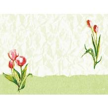 Duni Dunicel-Tischsets Red Tulip 30 x 40 cm 100 Stück