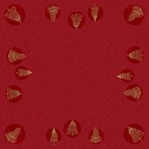 Duni Dunisilk-Mitteldecken Elegant Trees 84 x 84 cm 20 Stück