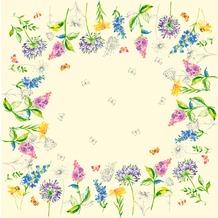 Duni Dunisilk-Mitteldecken Sweet Spring 84 x 84 cm 20 Stück