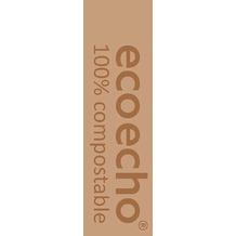 Duni Dunisoft-Servietten, Uni EcoEcho 40x40 cm 1/ 8 Buchfalz 60 St.
