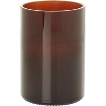 Duni Aware Bottle brown Kerzenglas inkl Kerze 119 x 83mm