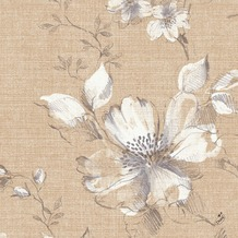 Duni Klassik-Servietten Floris 40 x 40 cm 4lagig, geprägt, 1/ 4 Falz 50 Stück