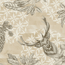 Duni Klassikservietten Wild Deer 40 x 40 cm 50 Stück