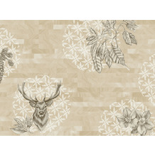 Duni Papier-Tischsets Wild Deer 30 x 40 cm 250 Stück