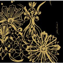 Duni Servietten Dunisoft® Dolce Vita Black 40 x 40 cm 12 Stück