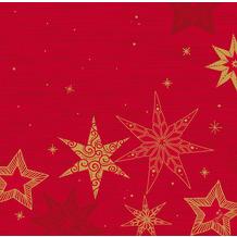 Duni Servietten Dunisoft® Star Stories Red 40 x 40 cm 12 Stück