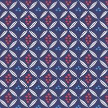 Duni Servietten Motiv Urban Ethnic Blue 40 x 40 cm 12 Stück