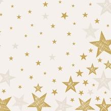 Duni Servietten Shining Star Cream 40 x 40 cm 12 St.