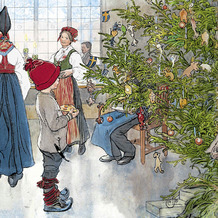 Duni Servietten Tissue Nu är det jul igen 33 x 33 cm 20 Stück
