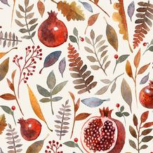 Duni Servietten Tissue Pomegranate 33 x 33 cm 20 Stück