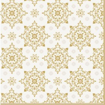 Duni Servietten X-Mas Deco Cream 40 x 40 cm 12 St.