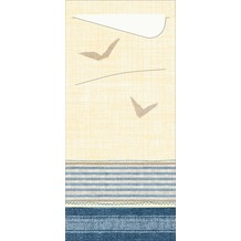 Duni Serviettentaschen Sacchetto® Tissue Seaway 190 x 84 mm 100 Stück