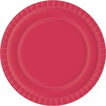 Duni Teller Uni rot ø 22 cm 10 St.