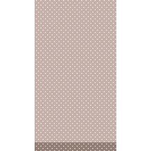 Duni Tischdecke Dunicel® Brook Light Taupe 138 x 220 cm 1 St.