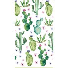 Duni Tischdecke Dunisilk®+ Floral Cactus 138 x 220 cm 1 St.