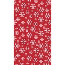 Duni Tischdecke Red Snowflakes 120 x 180 cm