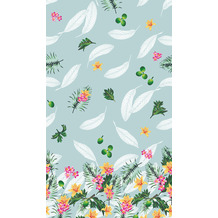 Duni Tischdecken Dunisilk® Fruity Jungle 138 x 220 cm 1er