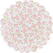 Duni Tortenspitzen Papier Sweet Roses ø 18 & 23 cm 20 St.