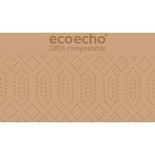 Duni Zelltuch-Servietten ecoecho® 40 x 40 cm 3lagig, 1/ 8 BF 250 Stück