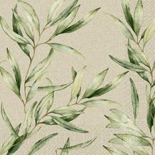 Duni Zelltuchservietten Foliage 40 x 40 cm 250 Stück