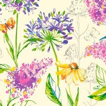 Duni Zelltuchservietten Sweet Spring 33 x 33 cm 250 Stück
