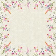 Duni Dunicel-Mitteldecken Floret 84 x 84 cm 20 Stück
