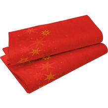 Duni Dunicel-Tischdecken 118 x 160 cm Star Stories Red