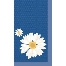 Duni Mitteldecken aus Dunicel 84 x 84 cm My Daisy Blue