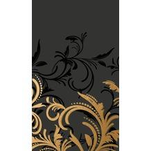 Duni Tischdecken aus Dunicel 138 x 220 cm Grace Black