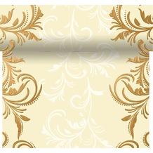 Duni Dunicel® Tischläufer 3 in 1 Grace Cream 0,4 x 4,80 m 1 Stück